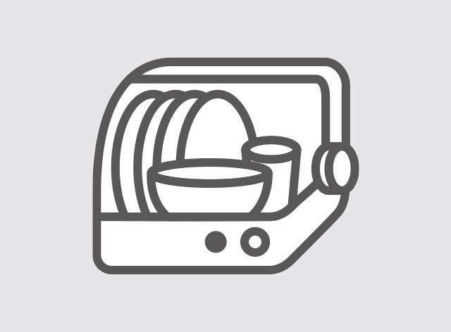 食洗機OKでお手入れカンタン(※保温ケースは入れないでください。)