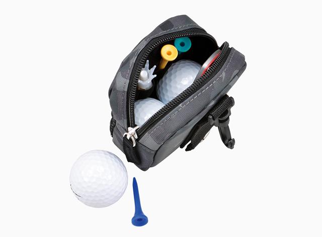 ゴルフボールケース付属