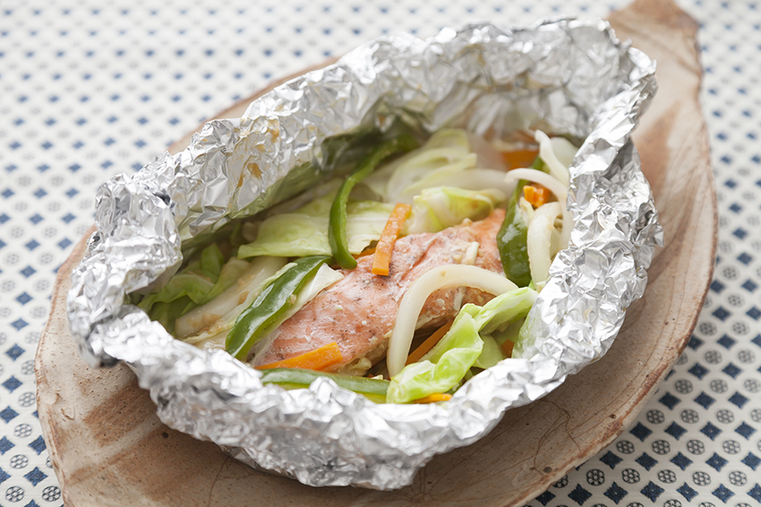 焼き 鮭 レシピ ちゃんちゃん の