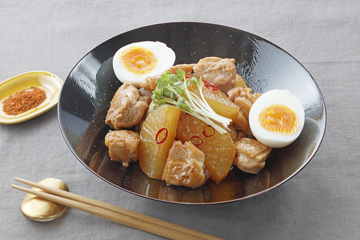 煮物 鶏肉 大根 レシピ の と 人気