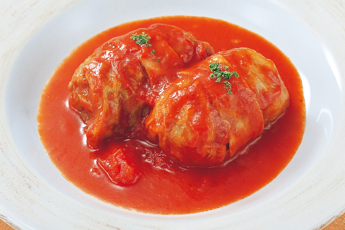 トマト 冷凍 ロール 缶 キャベツ