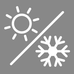 ステンレスボトル時は、冷たい飲み物の保冷と、熱い飲み物の保温のどちらにも対応している製品です。