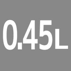 0.45L